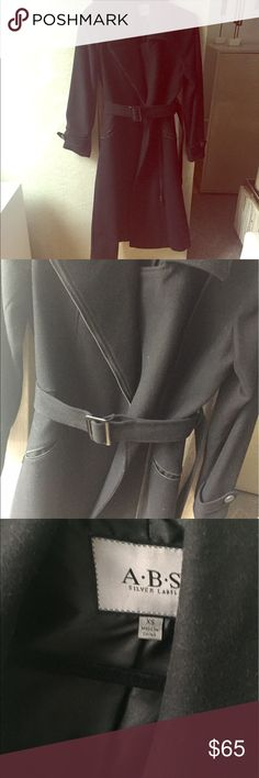 ABS Silver Label Wool Blend Coat Worn once, I don't have room for it! My loss your gain ABS Allen Schwartz Jackets & Coats