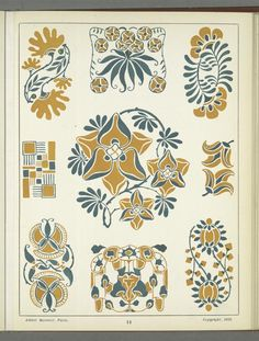 [Decorative designs.] From New York Public Library Digital Collections.