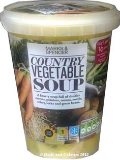 Country Vegetable Soup from Marks & Spencer