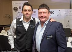 Disappointment: Jimmy White, right with Ronnie O'Sullivan last year, reached the final of ...