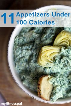 Serve up appetizers that you and your guests will love with these 11 recipes each under 100 calories.