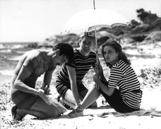 Jules et Jim with the beautiful Jeanne Moreau!