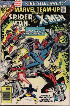 Marvel Comics Team Up King Size Annual #1 X-MEN SPIDERMAN Bill Mantlo Sal Buscema