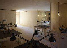 Golden Workshop by modulorbeat and Münster School of Architecture students - Dezeen