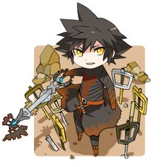 Kingdom ♡ Hearts ♔ *:・゚✧ Vanitas Kingdom Hearts, Kingdom Hearts Art, Tetsuya Nomura, Heart Pictures, D Gray Man, Disney And Dreamworks, Fire Emblem, Final Fantasy, Video Game