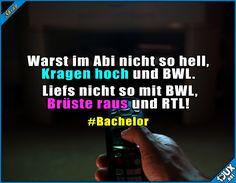 Willkommen bei RTL ^^' Lustige Sprüche / Lustige Bilder #Humor #RTL #BWL #Kragen #Bachelor #Jodel #Bachelor2017 #Fernsehen #lustigeSprüche #lustigeBilder