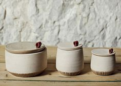 Recycled marble dust used for homeware range by Francesca Gattello