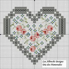 """Милые сердцу штучки: Вышивка крестом: """"Дела сердечные или 36 вариаций на тему """"Сердце"""" + несколько схем"""""""