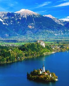 Lake Bled - Julian Alps, Slovenia