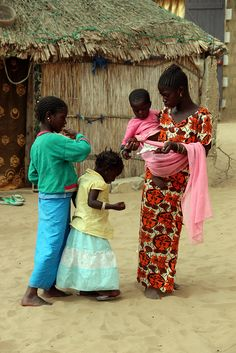 Sisters in Senegal.