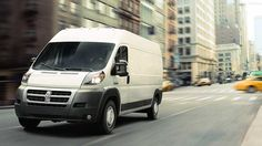 2014 Ram Promaster- The available 3.0L EcoDiesel I4 engine mated to the six-speed automated manual transmission generates up to 174 horsepower and 295 pound-feet of torque. Visit http://www.jimclickdodge.com/