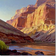 Southwest Landscape Paintings - Your house is probably. A terrific way would be to landscape your yard or garden. Watercolor Landscape, Landscape Art, Landscape Paintings, Fantasy Paintings, Cool Paintings, Indian Paintings, Southwestern Art, Desert Art, Environment Concept Art
