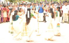 Onam Celebration, My College, Celebrities, Celebs, Celebrity, Famous People