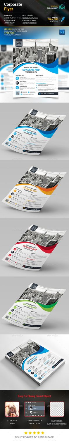 Corporate Flyer Template More Flyer template ideas - corporate flyer template