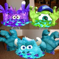 Monsters inc centerpiece