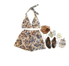 """""""Untitled #254"""" by waliflower ❤ liked on Polyvore featuring H&M, Dr. Martens and Chloé"""