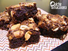 Brownies Úmidos com Castanha-de-Caju | Quiche de Macaxeira