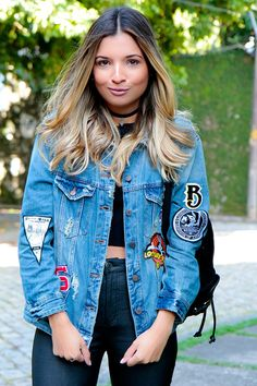 meu-look-jaqueta-jeans-patches-chocker-oxford-renner-Jessica_Velasco_Glam_style
