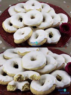 Rosquillas de Santa Clara Santa Clara, Empanadas, Doughnut, Muffins, Cupcakes, Cookies, Sweet, Desserts, Food