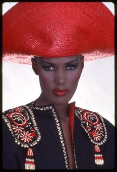 Grace Jones ...danced around her at a club in Dallas. They locked the doors and it was a private party for Grace
