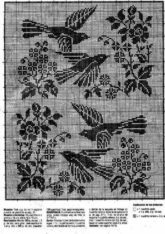 Gallery.ru / Фото #16 - Crochet Filet pour Point de Croix 1 - Mongia