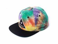 Tripped Snapback Cap by ASPHALT YACHT CLUB
