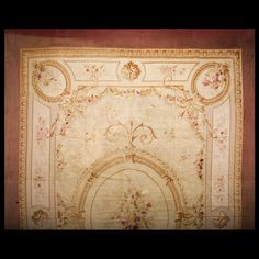 Stock Id: #6350    General Rug Type:       European    Specific Rug Type:       Aubusson    Circa: 1880    Color: Ivory    Origin: France    Width: 16' 8'' ( 508 cm )    Length: 24' 6'' ( 746.8 cm )
