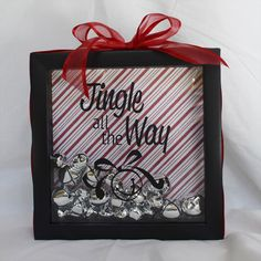 something wilde: I've Been Crafting , Jingle all the Way shadow box