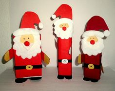 Weihnachten/basteln-Nikolaus-Schachtel-Tonpapier Christmas Stockings, Christmas Ornaments, Saint Nicholas, Advent Calendar, Preschool, Santa, Holiday Decor, Home Decor, Felt