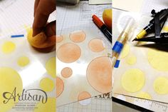 Check out this DIY of how to make your own stencils! So cool!