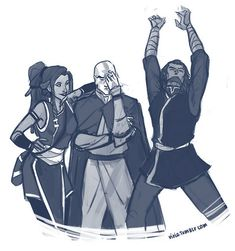 Kya, Tenzin, & Bumi