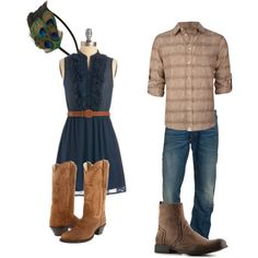"""""""Western Engagement"""" by loving-you-photography on Polyvore"""