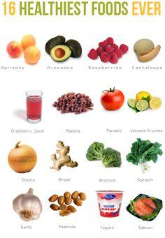 18 healthiest foods EVER