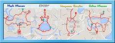Walking Distance At Disney World. Click Here to Find Out Disney Park Walking Distances of Magic Kingdom, EPCOT, Hollywood Studios and Animal Kingdom.