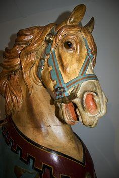 Carousel figure made by the Gustav Dentzel Carousel Company