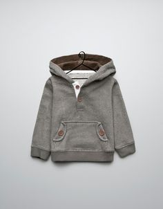 sweater with pocket and large buttons - Cardigans and sweaters - Baby boy (3-36 months) - Kids - ZARA United States