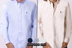 Men's Polo Ralph Lauren Oxford Shirt or V-Neck Jumper