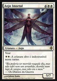 Deathless Angel (Rise of Eldrazi) - R$9,90