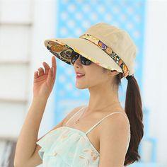 cc11339be98 High-quality Women Summer UV Protection Gardening Detachable Hat Beach  Outdoor Sunscreen Visor Sun Cap