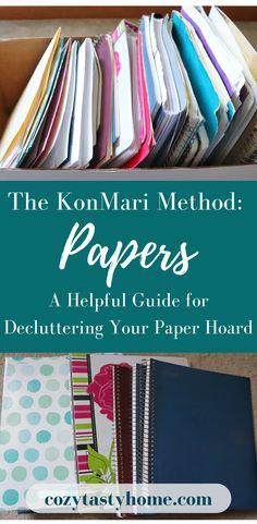 declutter Most people have a lot of paper clutter in various places. I decluttered my papers using the KonMari Method. Here is how I did it, and I broke it down into a helpful guideline. Organizing Paperwork, Clutter Organization, Paper Organization, Organising, Organizing Ideas, Office Organization At Work, Office Paper, Office Desk, Konmari Method