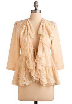 lace..Romantic Jacket