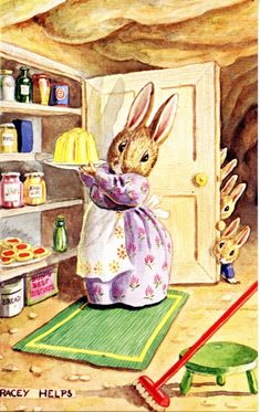 Miss Bun's Pantry by Racey Helps