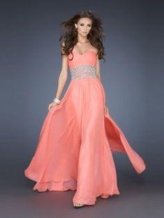 e4e115be5ec Fabulous A-Line Princess Beading Sweetheart Sleeveless Floor-Length Chiffon  Formal Dress Dress