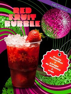 Helpbar Red Fruit Bubble