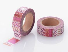 Tribal Washi Tape, 10 Meter Full Rolls, Journal Masking Tape, Paper Tape Craft Journal Supplies, Was Scrapbook Supplies, Craft Supplies, Scrapbooking, Masking Tape, Washi Tape, Rug Hooking Patterns, Rainbow Glass, Tape Crafts, Paper Tape