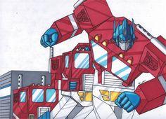 Optimus Prime TRANSFORM by RobertMacQuarrie1 on DeviantArt