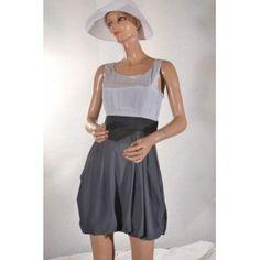 robe boule gris 34 H et M #h&m # vetement occasion