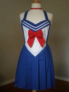 Sailor Moon inspired cosplay costume inspired by HauteMessThreads,