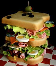 .sandwich cake