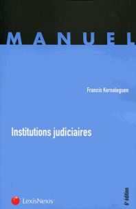 Institutions judiciaires 6e édition